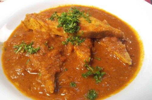 goan fish or tofu curry