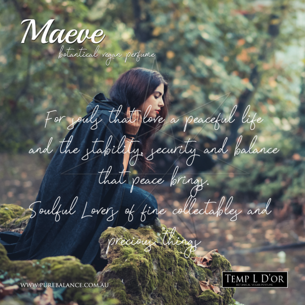 MAEVE-botanical perfume by Kim Lansdowne-Walker