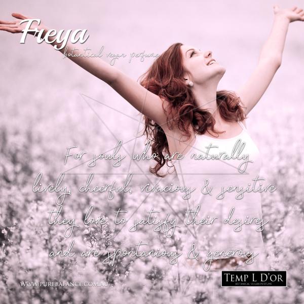 FREYA-botanical perfume by Kim Lansdowne-Walker
