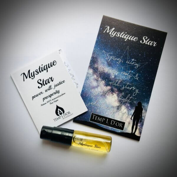 Mystique Star trial - Elven Star Botanical Perfume range by Perfume Alchemist Kim Lansdowne-Walker
