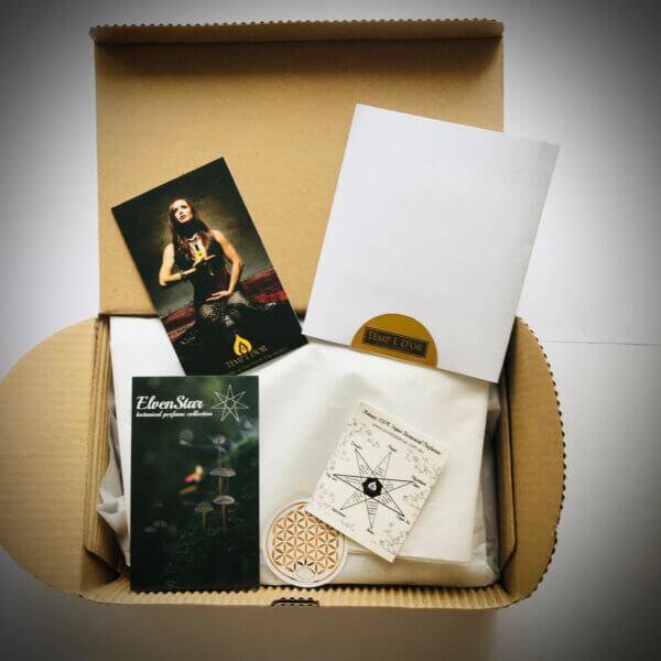 Elven Star Botanical Perfume Collection Trial Pack by Perfume Alchemist Kim Lansdowne-Walker